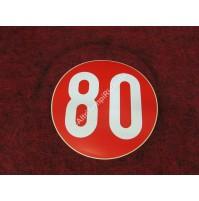 ADESIVO 80 AUTO D'EPOCA