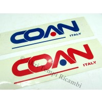 ADESIVO COAN ITALY AUTO D'EPOCA DECALS STICKERS AUFKLEBER DECORAZIONI DECOR