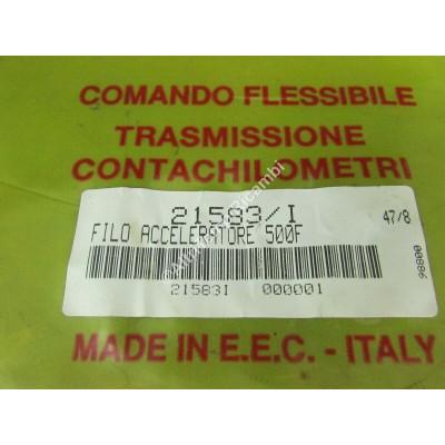 CAVO COMANDO ACCELERATORE PEDALE FIAT 500 F  L R  - 126 4130875-3