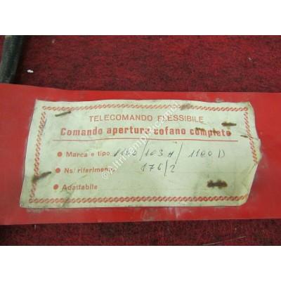 CAVO COMANDO APERTURA COFANO COMPLETO FIAT 1100 103 - 1100 D-0