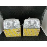 COPPIA FARI PROIETTORI ANT DX - SX RENAULT SUPER CINQUE 7701030640 - 7701030