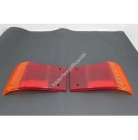 COPPIA LENTE FANALE POSTERIORE DX SX AUTOBIANCHI A112 4^ SERIE 265079