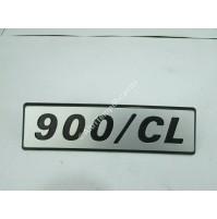 LOGO STEMMA EMBLEMA FIAT 127 900 CL