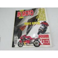 RIVISTA IN MOTO PROVE NOVIT APRILIA RS 250 - BIMOTA YB 9 SRI - HONDA HORNET -