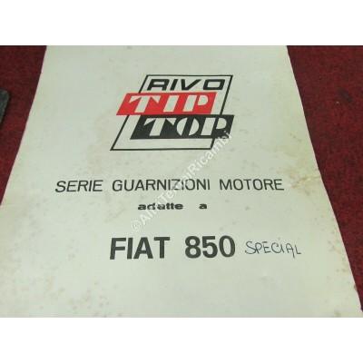 SERIE GUARNIZIONI MOTORE SENZA GTC FIAT 850-9