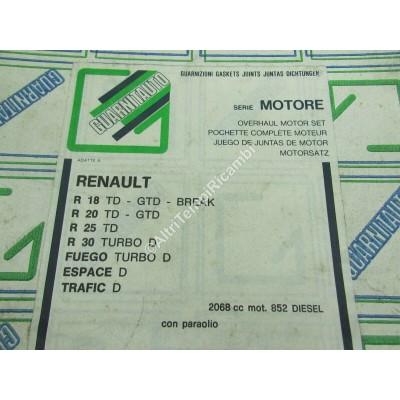 SERIE MOTORE RENAULT R18 TD GTD BREAK - R20 TD - R25 TD - R30 TD - FUEGO  ESPACE-9