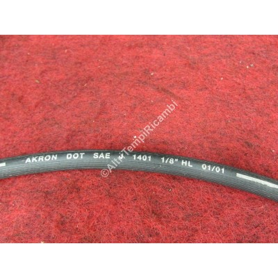 TUBO FRENO ASSALE ANTERIORE BILATERALE MM 330 RENAULT SUPER 5 - DACIA LOGAN-3